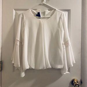 BCX bell sleeve blouse